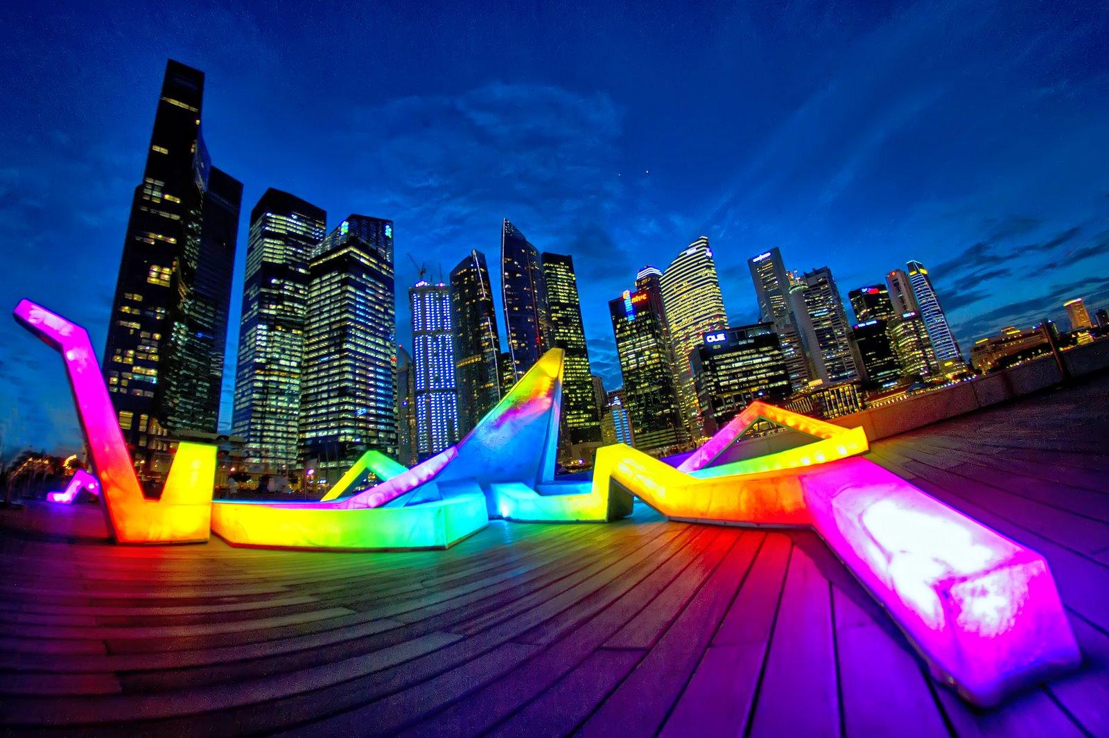 Tưng bừng lễ hội ánh sáng ở Singapore