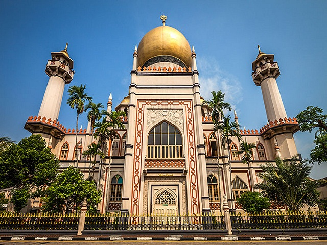 Cổ kính di tích lịch sử ở Singapore
