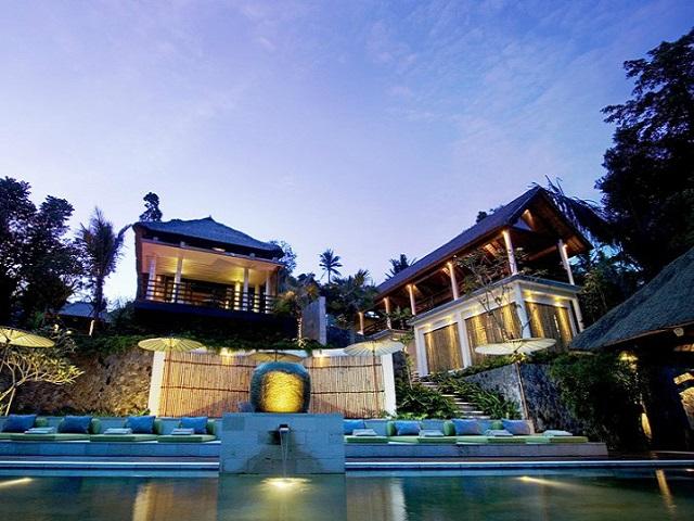 Độc đáo các khu nghỉ dưỡng sang trọng ở Bali