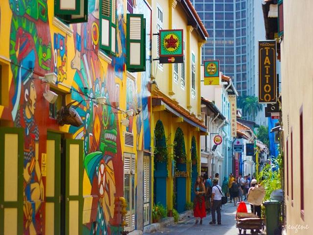 Vui nhộn các trải nghiệm hấp dẫn tại Singapore