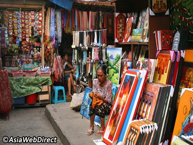 3 khu chợ nghệ thuật tuyệt nhất Bali