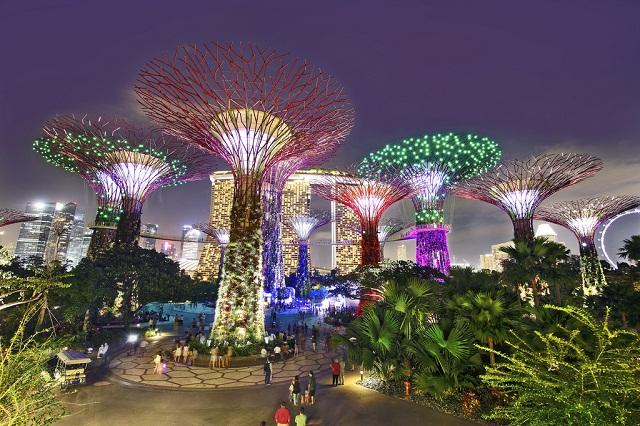 Các điểm tham quan quanh vịnh Marina Bay Sands Singapore