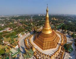Mê mẫn những điểm hành hương nổi tiếng ở Myanmar